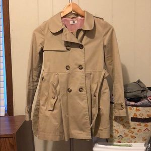 Uniqlo trench coat (big girl size 11)